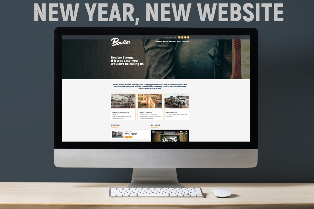 Boulter Industrial Website